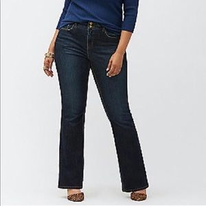 Lane Bryant Bootcut Tighter Tummy Technology Jeans